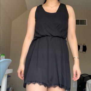 Thrifted Black Sleeveless Dress